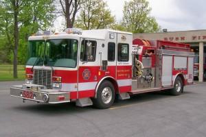2004 HME/Smeal Pumper/Tanker, 1,000 Water, 1500 Pump, 10KW Gen, 5.0 Hale Foam, 40 Gal. Foam